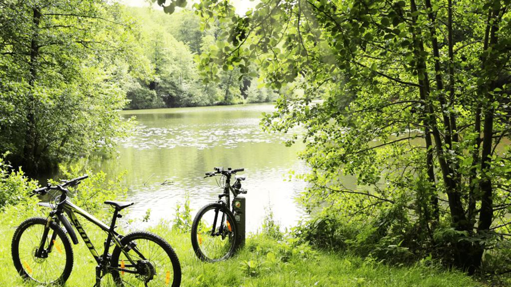 cykler foran soe