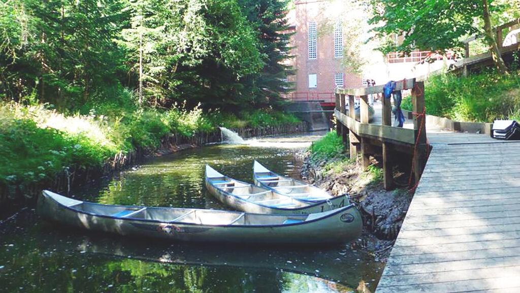 Kanoer ved Harteværket i Kolding